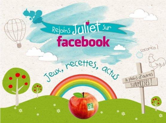 Juliet<sup>®</sup> est sur Facebook