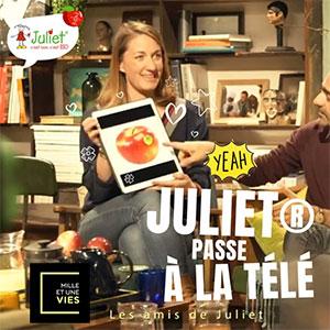 Pomme Juliet fait son prime lors de l'émission Mille et une vie