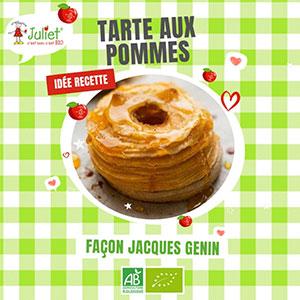 Instant gourmand : les secrets d'une tarte aux pommes Juliet®