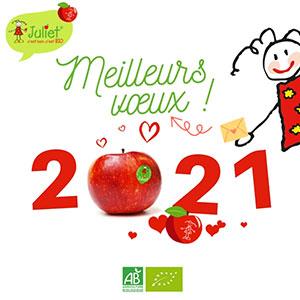 3...2...1 Juliet® continue d'être avec vous pour l'année 2021 !