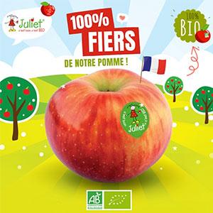 La pomme Juliet®, le fruit de notre travail