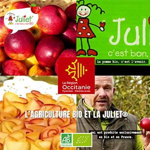 La chaîne Région Occitanie met à l'honneur Pomme Juliet®