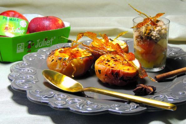Passion pommes Juliet® : Crème brûlée bonbon