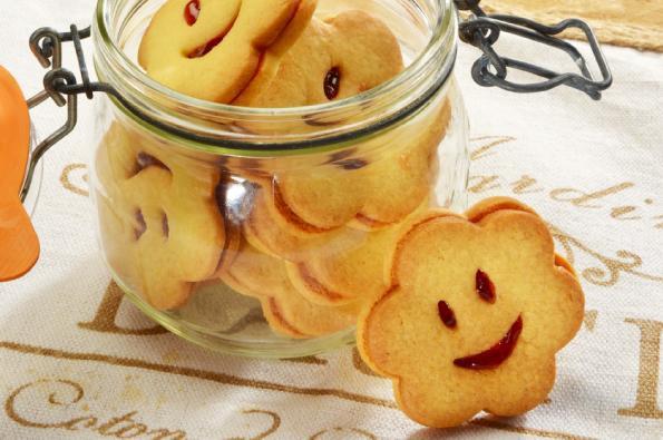 Biscuits sourire gelée de pomme Juliet®