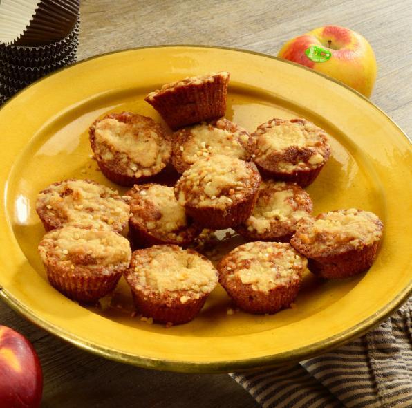 Muffins crumble aux pommes Juliet®
