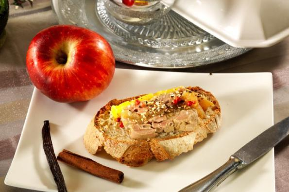 Foie Gras aux Pommes Juliet® en terrine