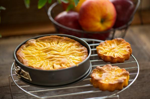 Gâteau fondant aux pommes Juliet®
