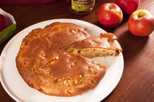 Gâteau au yaourt et aux pommes Juliet®